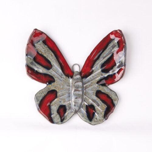ceramiczny motyl ozdobny