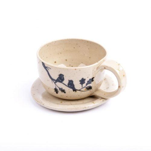 Zestaw do espresso z siedzącymi ptaszkami, 70 ml